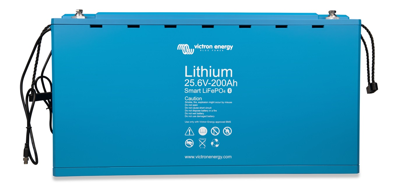 Victron Energy LiFePO baterie 25,6V/200Ah -  Smart