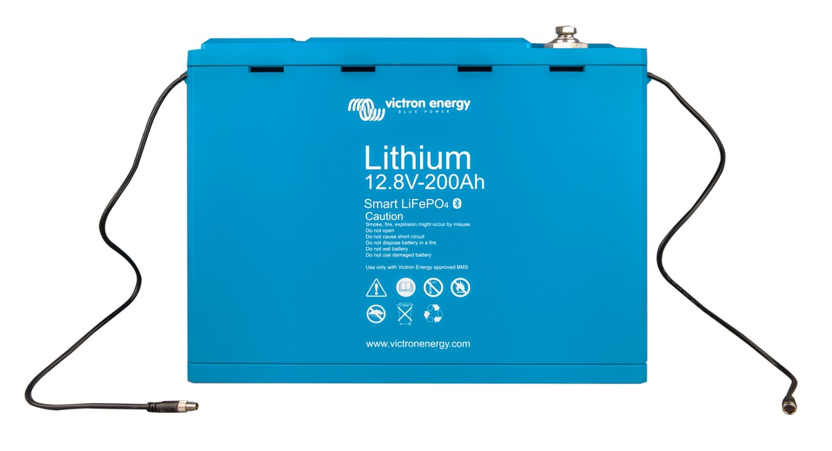 Victron Energy LiFePO baterie 12,8V/200Ah - Smart